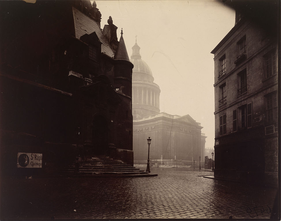 Eugène Atget - The Panthéon (Getty Museum)